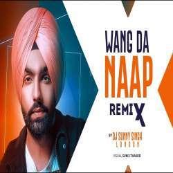 WANG DA NAAP - Ammy Virk (Remix) Dj Sunny Singh UK Poster