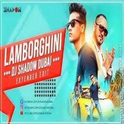Lamberghini DJ Shadow Dubai DJ Ashmac x DJ Leo Remix Poster